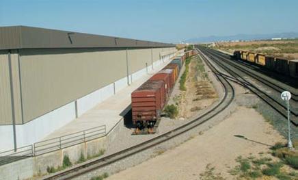 Rail served warehouse Tucson