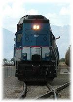Century Park Tucson locomotive