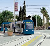 Tucson modern streetcar