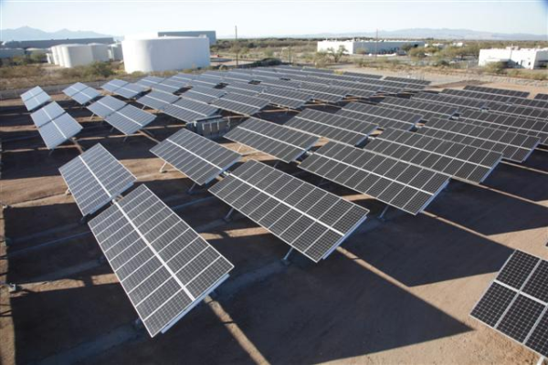 TEP Arrays at the Solar Zone