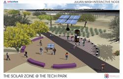 Solar Zone Interactive Node