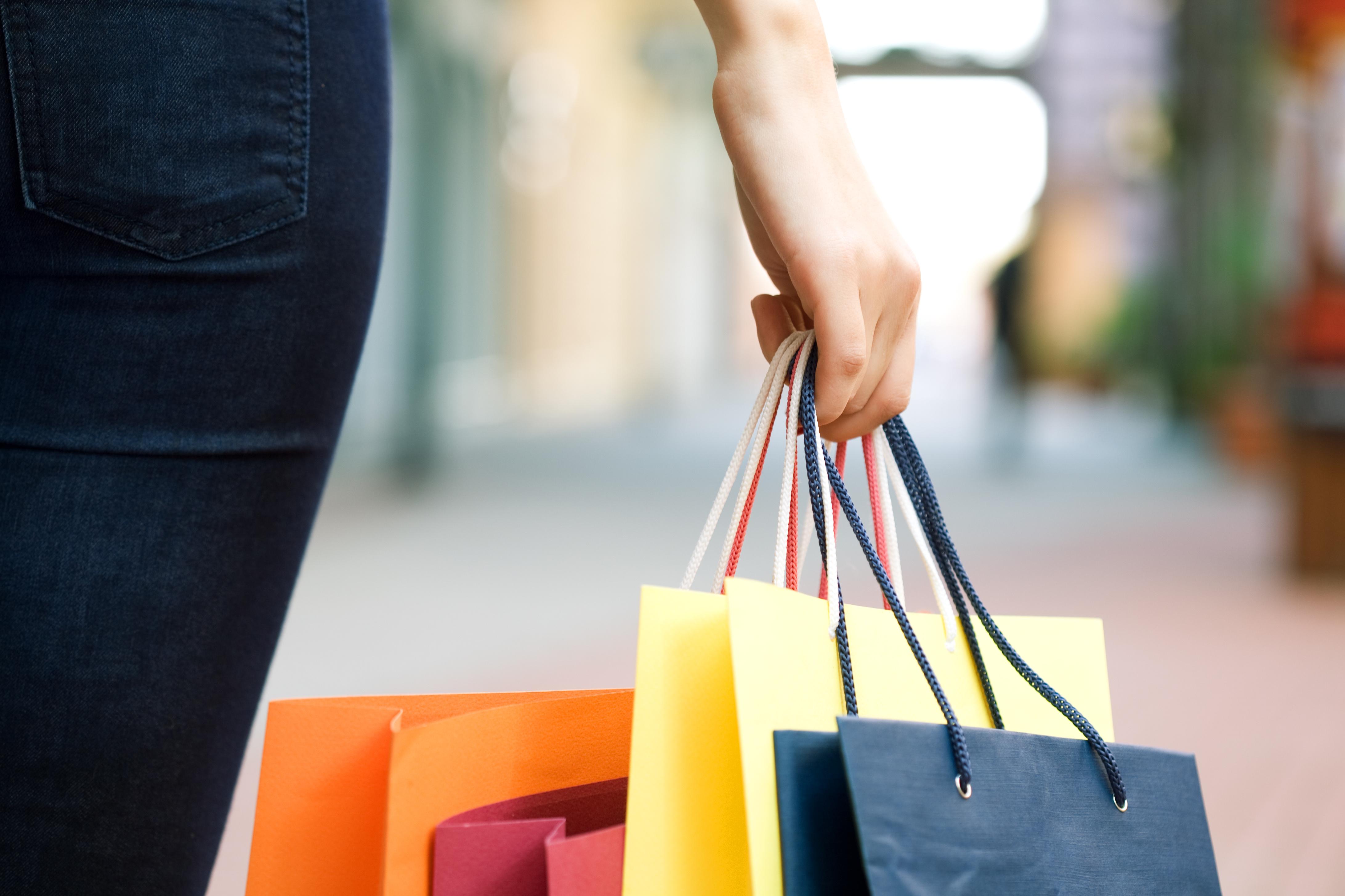 Retail shop bags