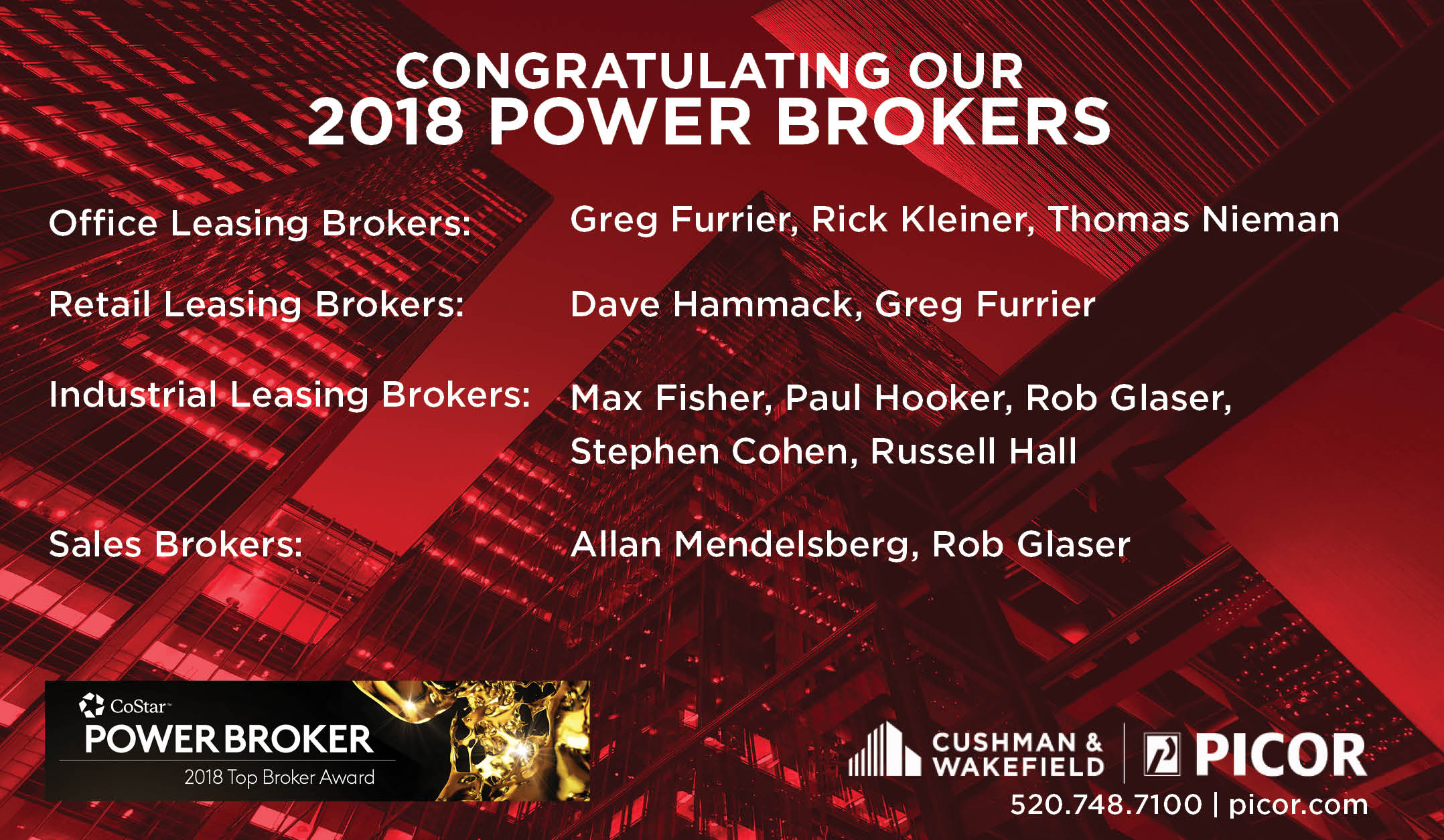 CoStar 2018 Power Brokers