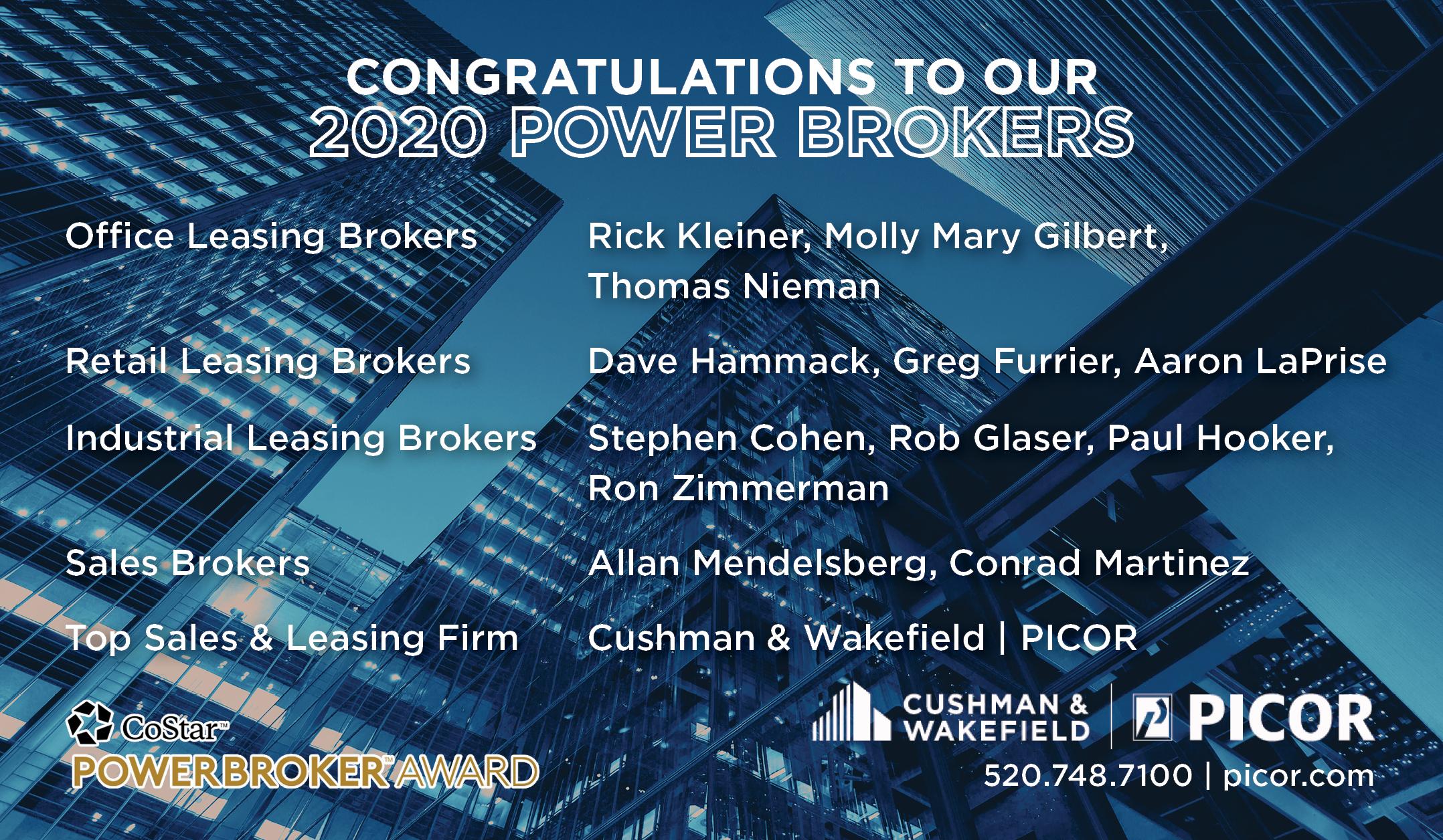 CoStar 2020 Power Brokers