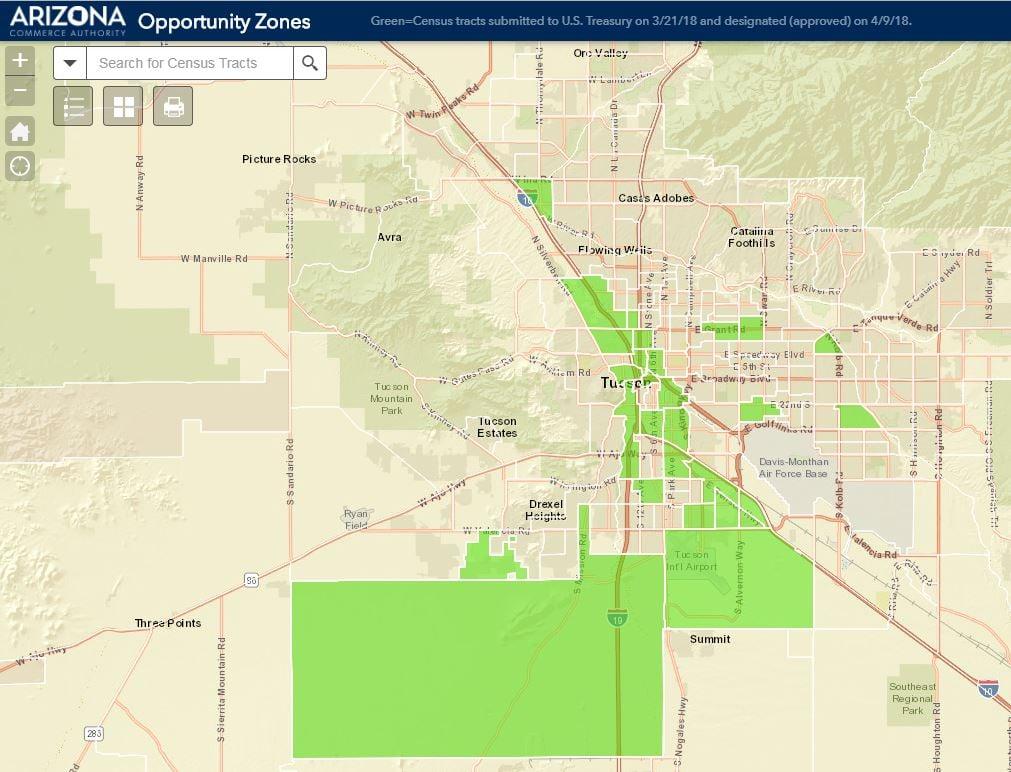 Tucson_Region_Opportunity_Zones